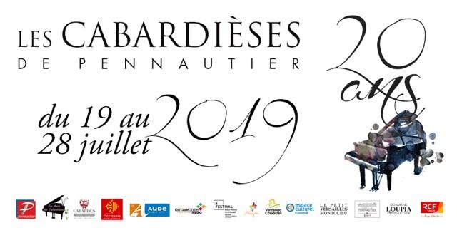 Programme du Festival Les Cabardièses, 20ème édition