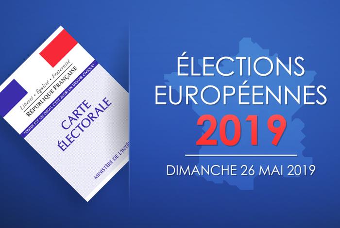 événements : affiche élections européennes 2019